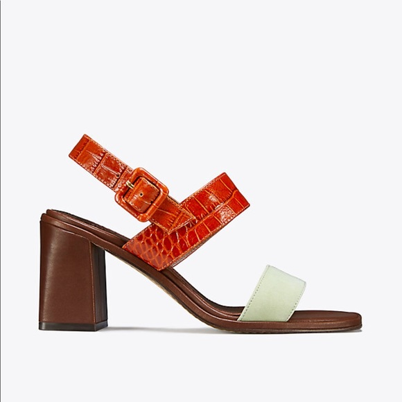 e10d9e2ff54e Tory Burch Delaney Color Block Sandals